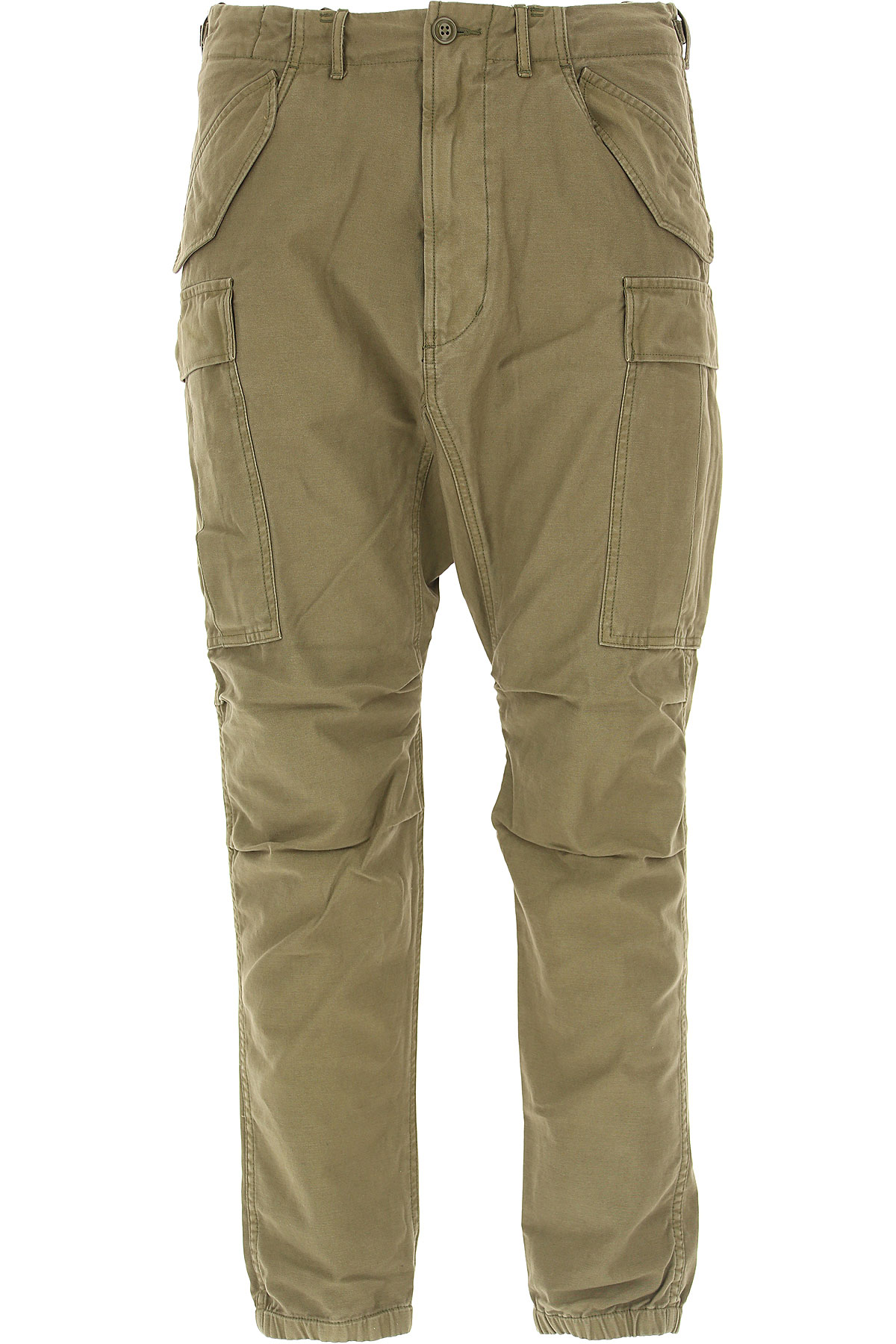 Image of R13 Pants for Men, Olive, Cotton, 2017, US 32 - EU 46 US 36 - EU 50 US 40 - EU 54