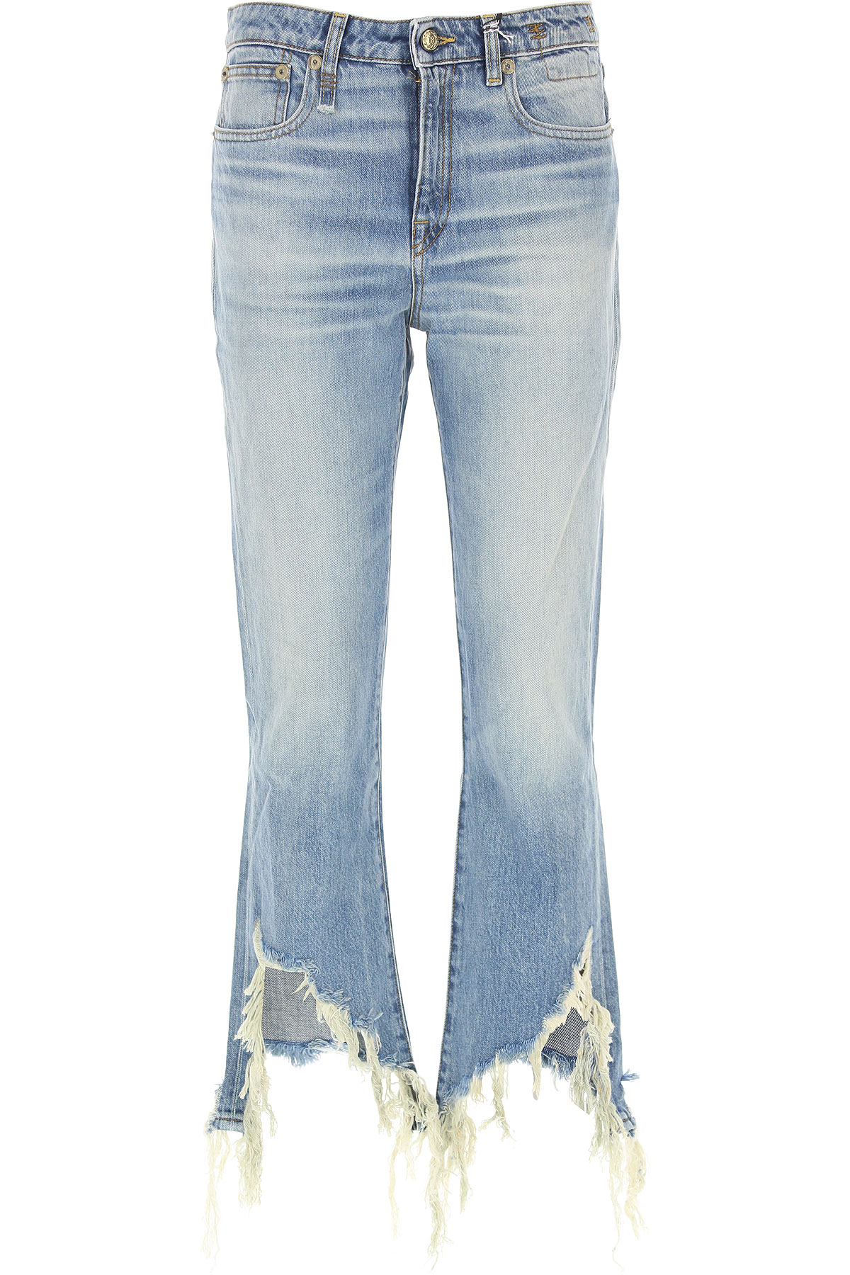 Image of R13 Jeans, Denim Light Blue, Cotton, 2017, 26 28 30