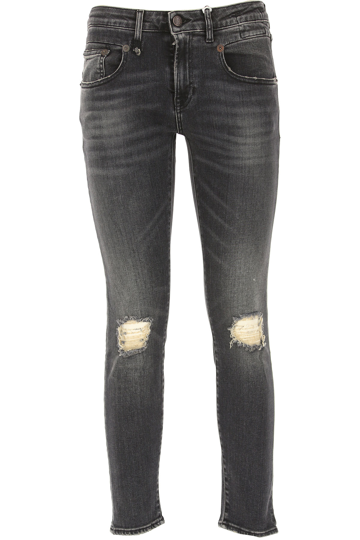 Image of R13 Jeans, Black, Cotton, 2017, 26 27 28 29