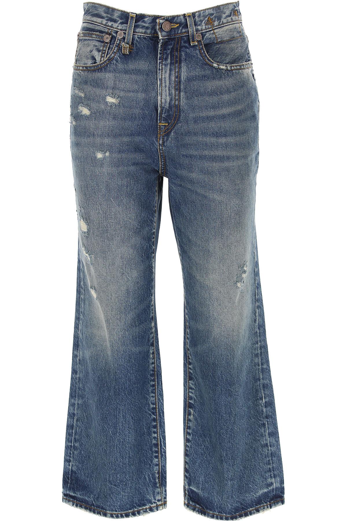 R13 Jeans On Sale, Denim Blue, Cotton, 2019, 25 27 28 29
