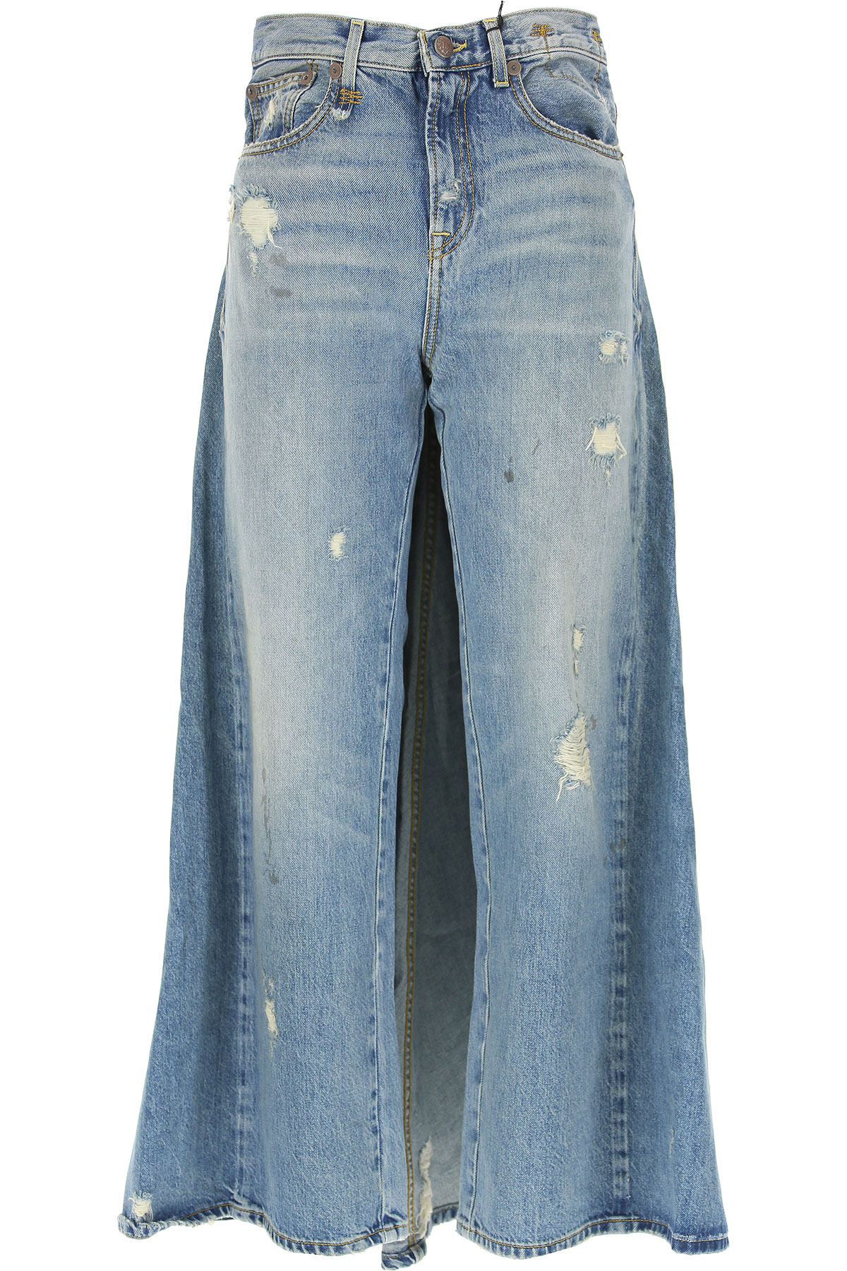 Image of R13 Jeans, Denim Light Blue, Cotton, 2017, 26 27 28