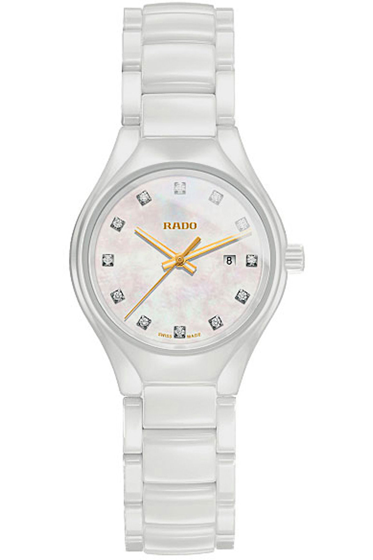 Rado Watch for Women, White, High-Tech Ceramic, 2019
