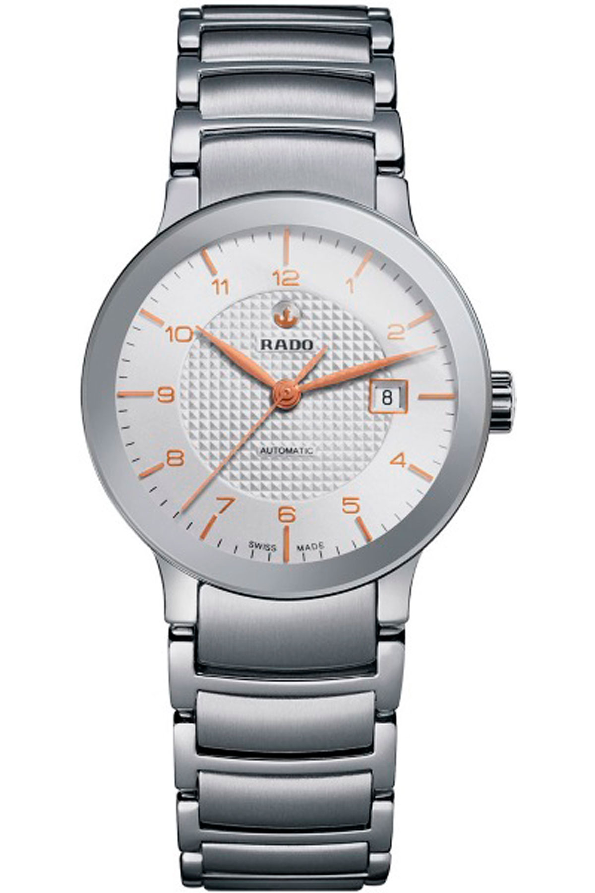 Rado Watch for Women, Centrix Automatic, Silver, Stainless Steel, 2019