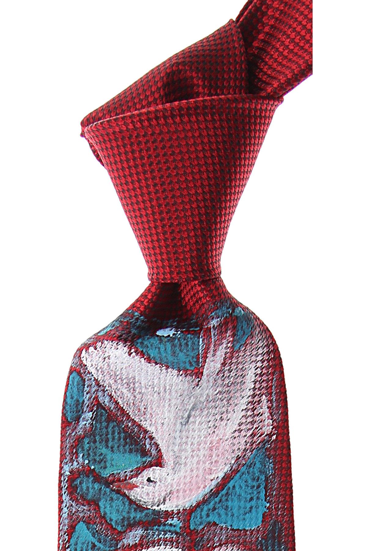 Raffaello Ties On Sale, Orient Red, Silk, 2019