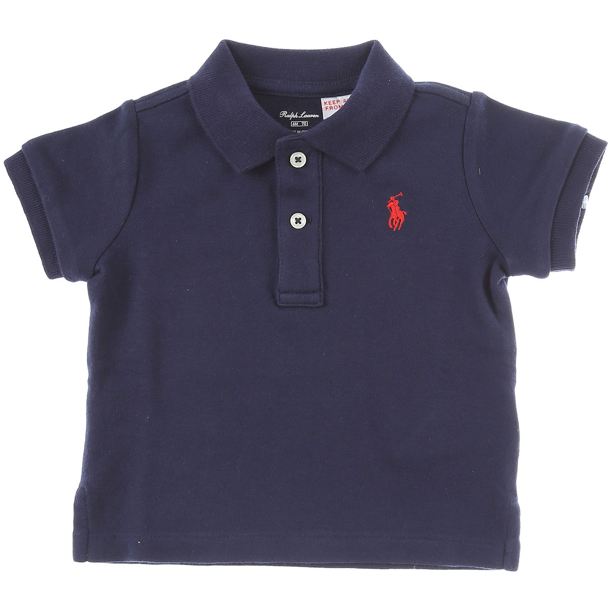 Ralph Lauren Baby Polo Shirt for Boys On Sale in Outlet, navy, Cotton, 2019, 12M 18M 2Y 2Y 6M 9M