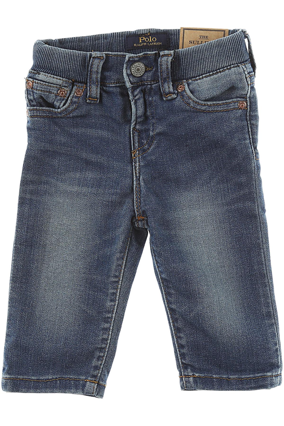 Image of Ralph Lauren Baby Jeans for Boys, Denim, Cotton, 2017, 12M 18M 2Y 3M 6M 9M