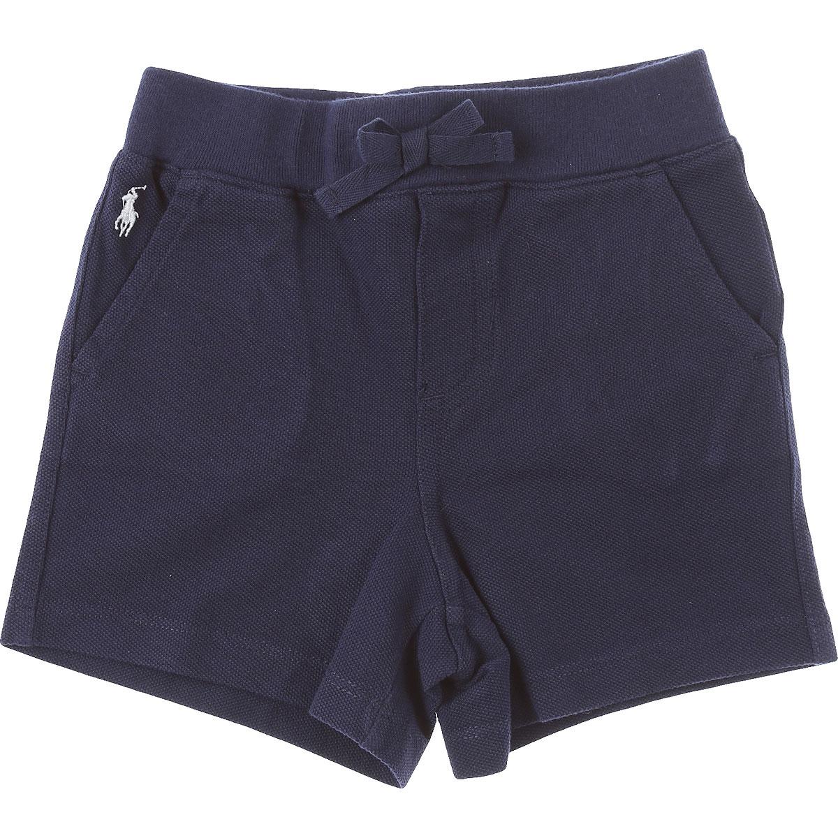 Ralph Lauren Baby Shorts for Boys On Sale, nav, Cotton, 2019, 18 M 2Y 6M 9 M