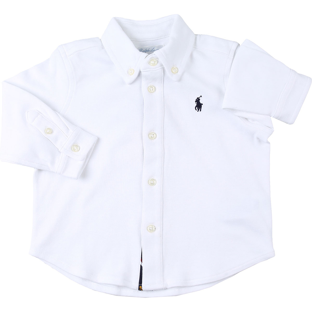 Ralph Lauren Baby Polo Shirt for Boys On Sale, White, Cotton, 2019, 12 M 2Y 9M