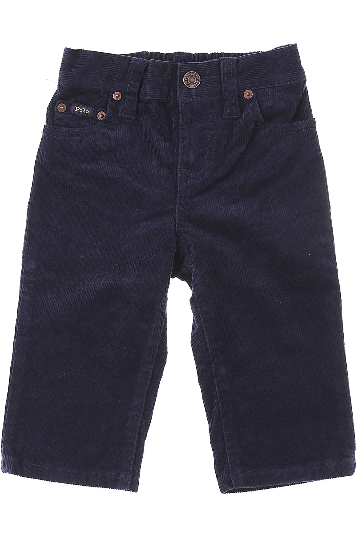 Ralph Lauren Baby Pants for Boys On Sale, French Navy, Cotton, 2019, 12 M 18 M