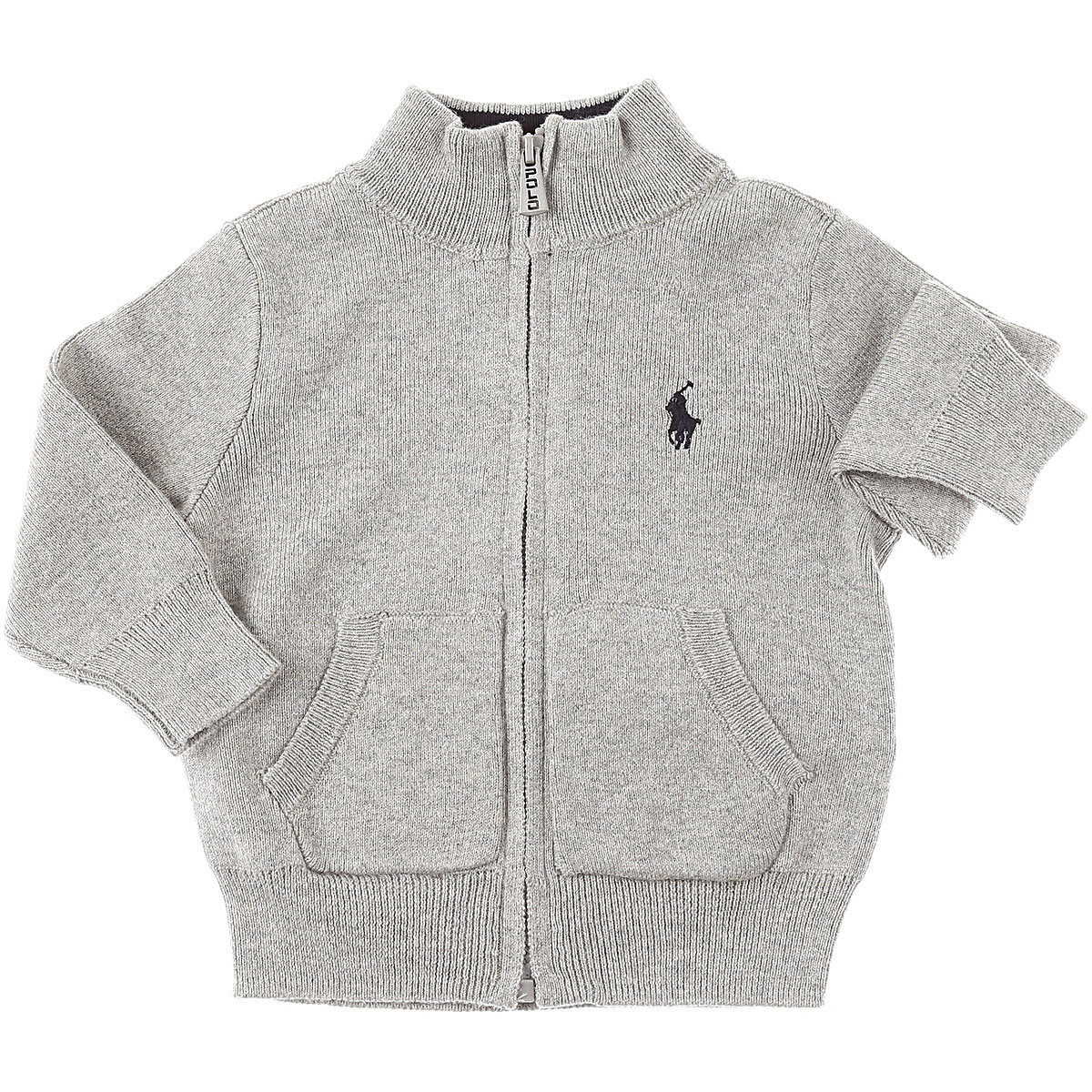 Ralph Lauren Baby Sweaters for Boys On Sale, Grey, Cotton, 2019, 12 M 2Y 6M 9M