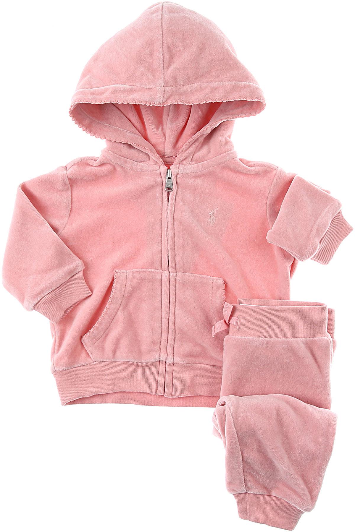 Ralph Lauren Baby Sets for Girls On Sale, Pink, Cotton, 2019, 12M 12M 18M 2Y 3M 6M 9M 9M