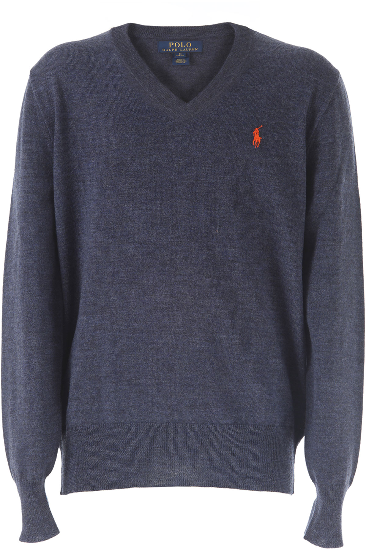 Ralph Lauren Kids Sweaters for Boys On Sale in Outlet, Blue, Wool, 2017, 2Y 3Y 5Y USA-367381