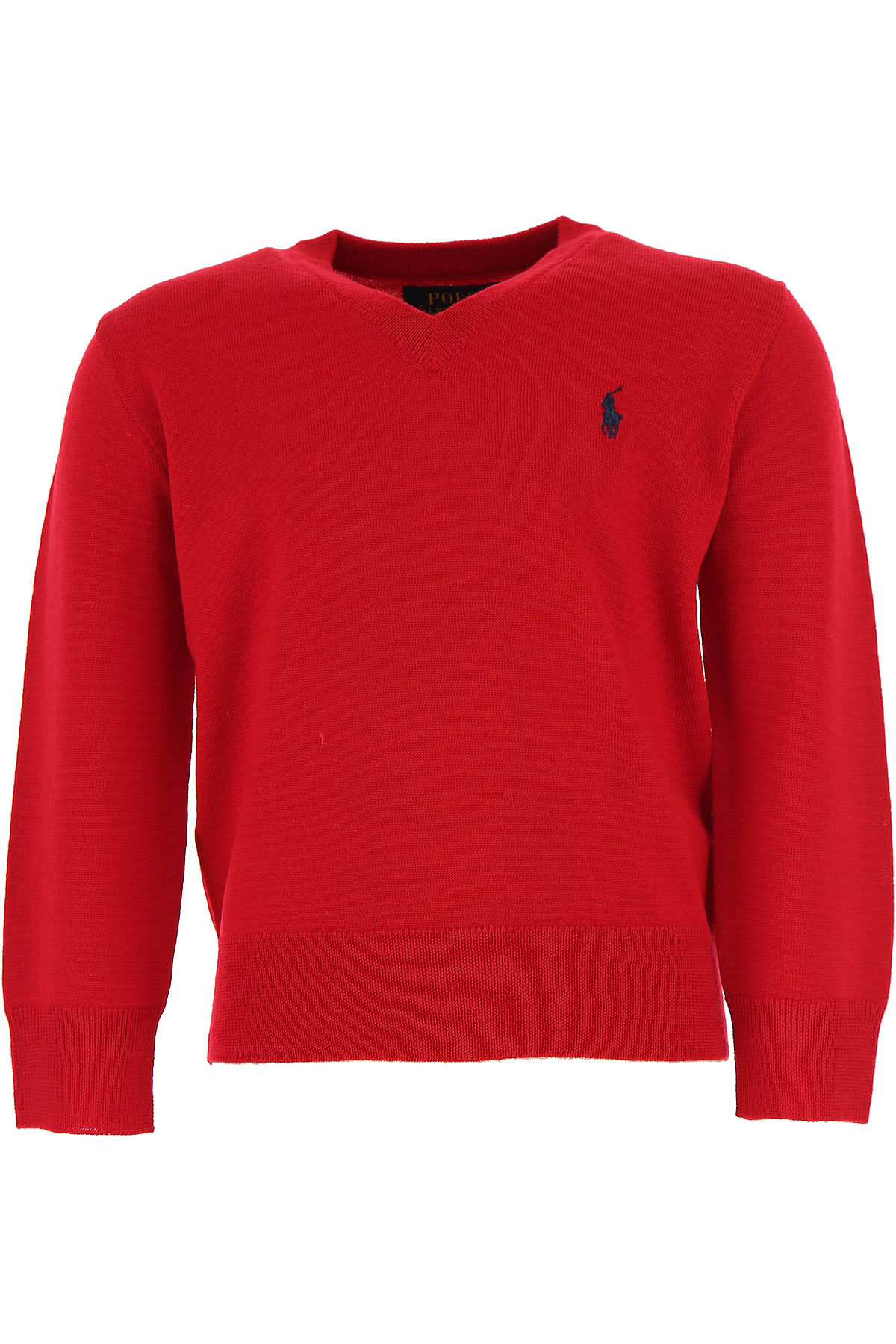 Ralph Lauren Kids Sweaters for Boys On Sale, Red, Wool, 2017, 2Y 4Y USA-414214