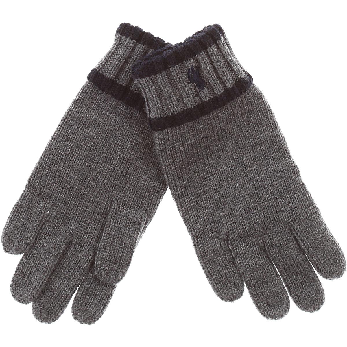 Image of Ralph Lauren Kids Gloves for Boys, Grey, Wool, 2017