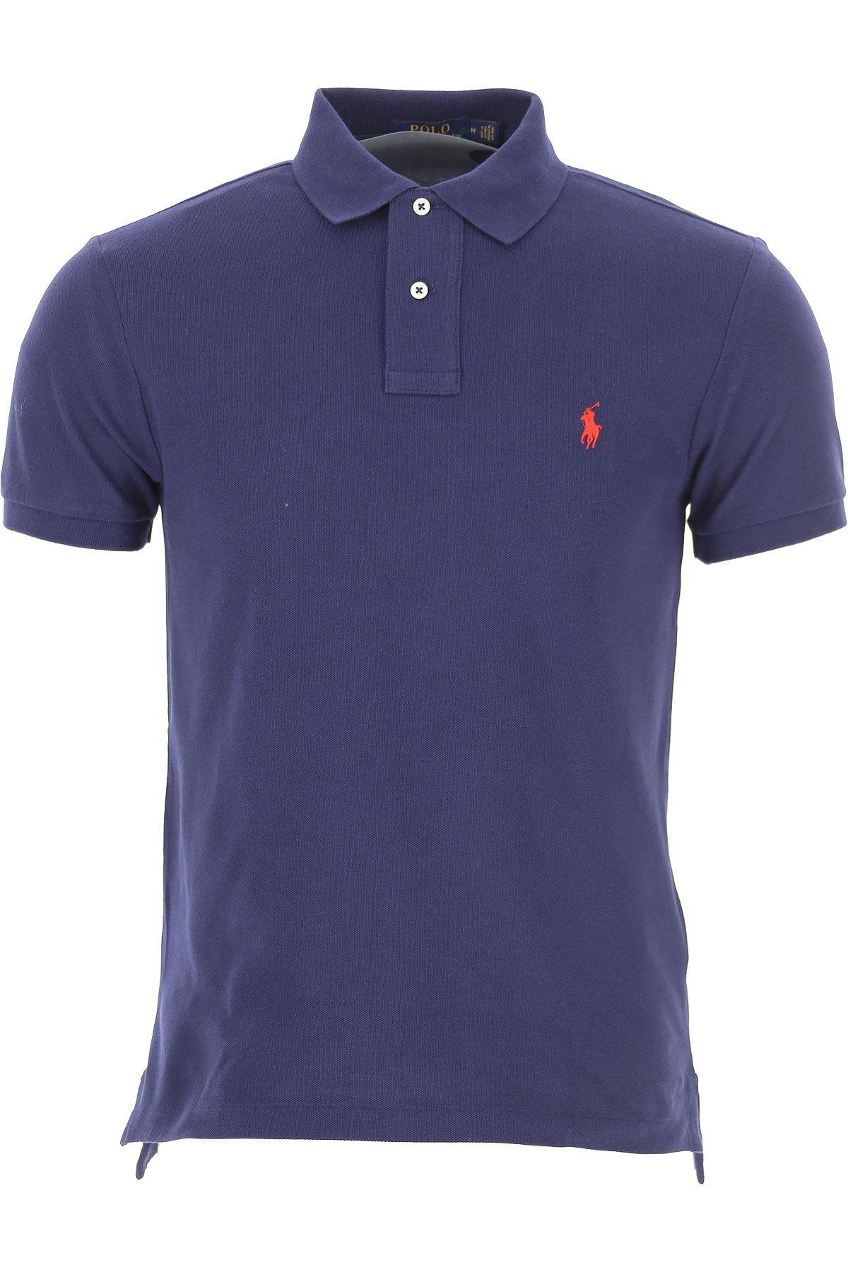 Ralph Lauren Ralph Lauren Polo Shirt for Men On Sale, Navy Blue, Cotton, 2021, L S XXL from Raffaello Network | Accuweather