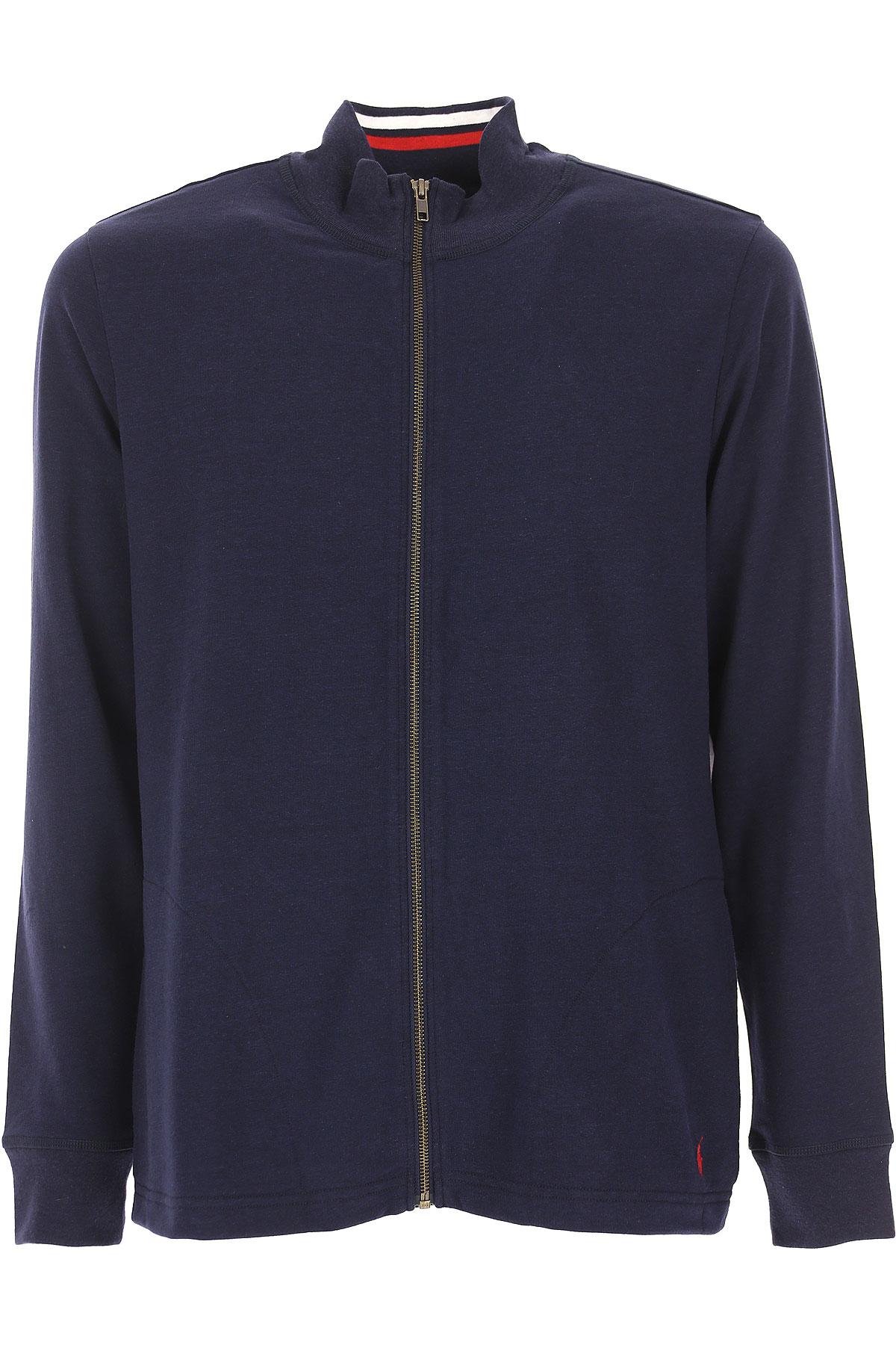 Ralph Lauren Sweatshirt for Men, Blue Navy, polyester, 2017, L M S XL USA-438500
