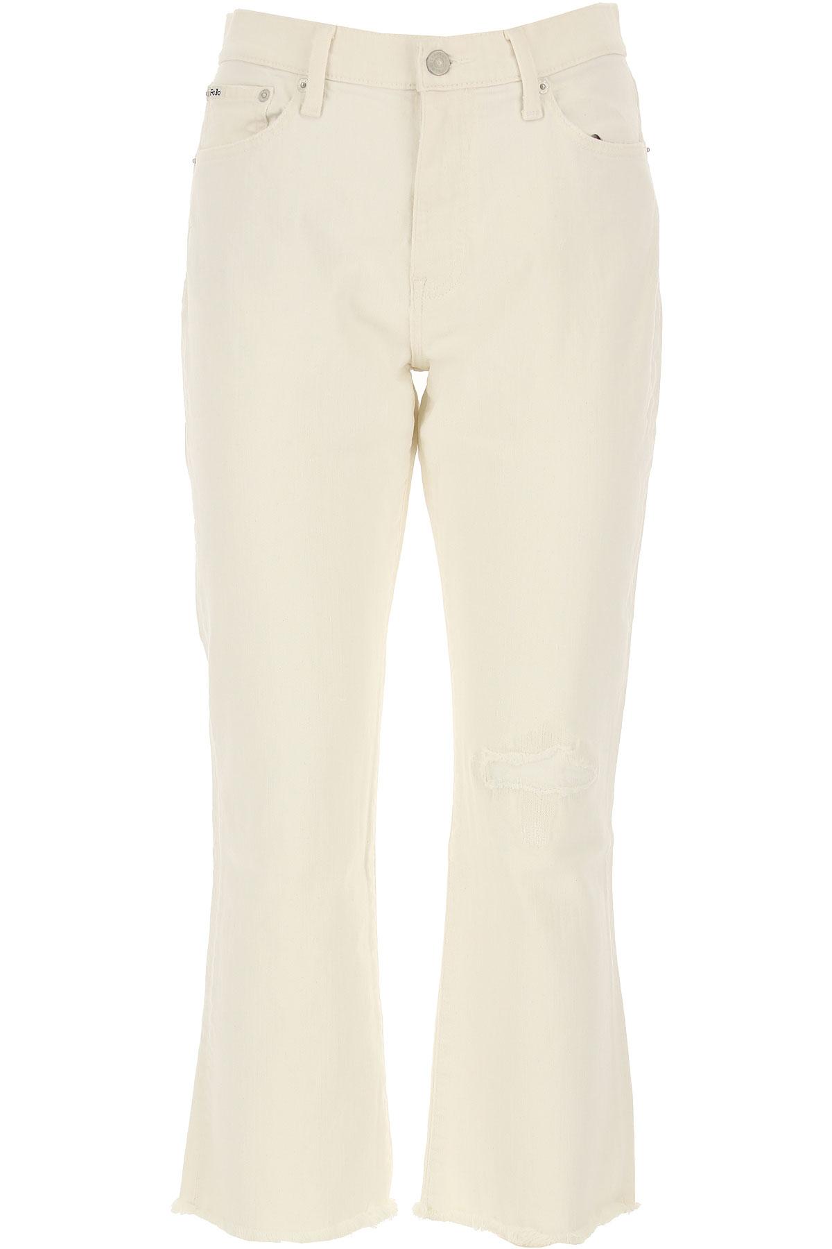 Ralph Lauren Jeans, White, Cotton, 2017, 26 27 28 29 30