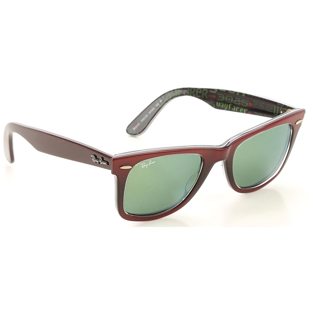 Ray Ban Sunglasses On Sale, Burgundy Shaded, 2019