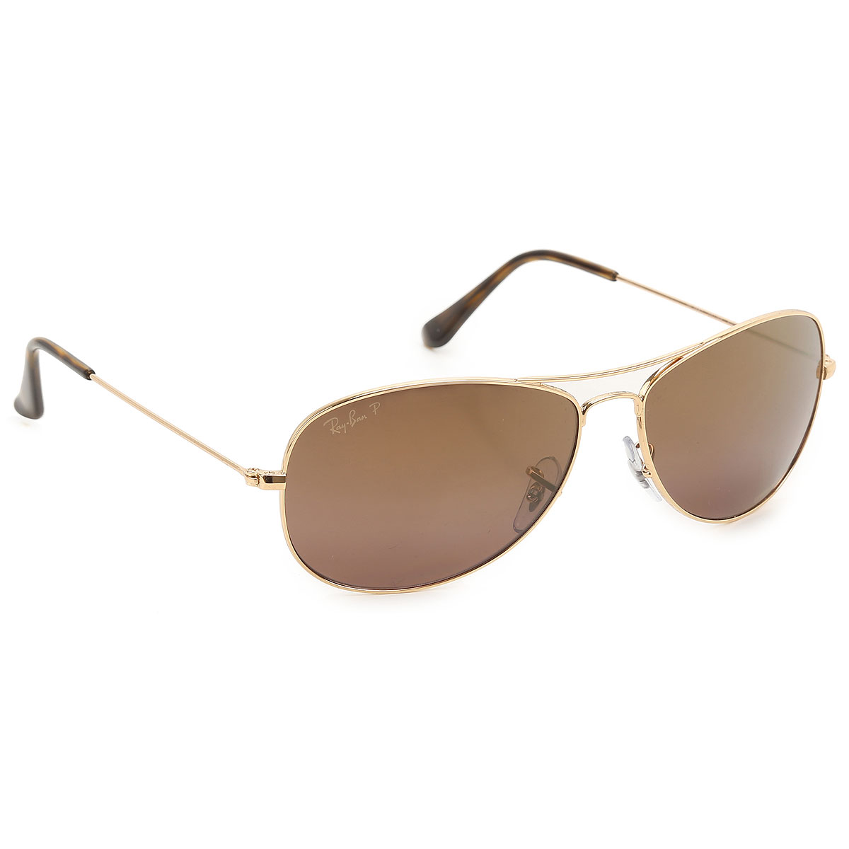 Image of Ray Ban Sunglasses On Sale, Gold, 2017