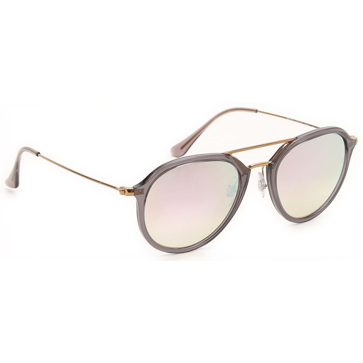 Ray Ban Sunglasses On Sale, Transparent Grey, 2019