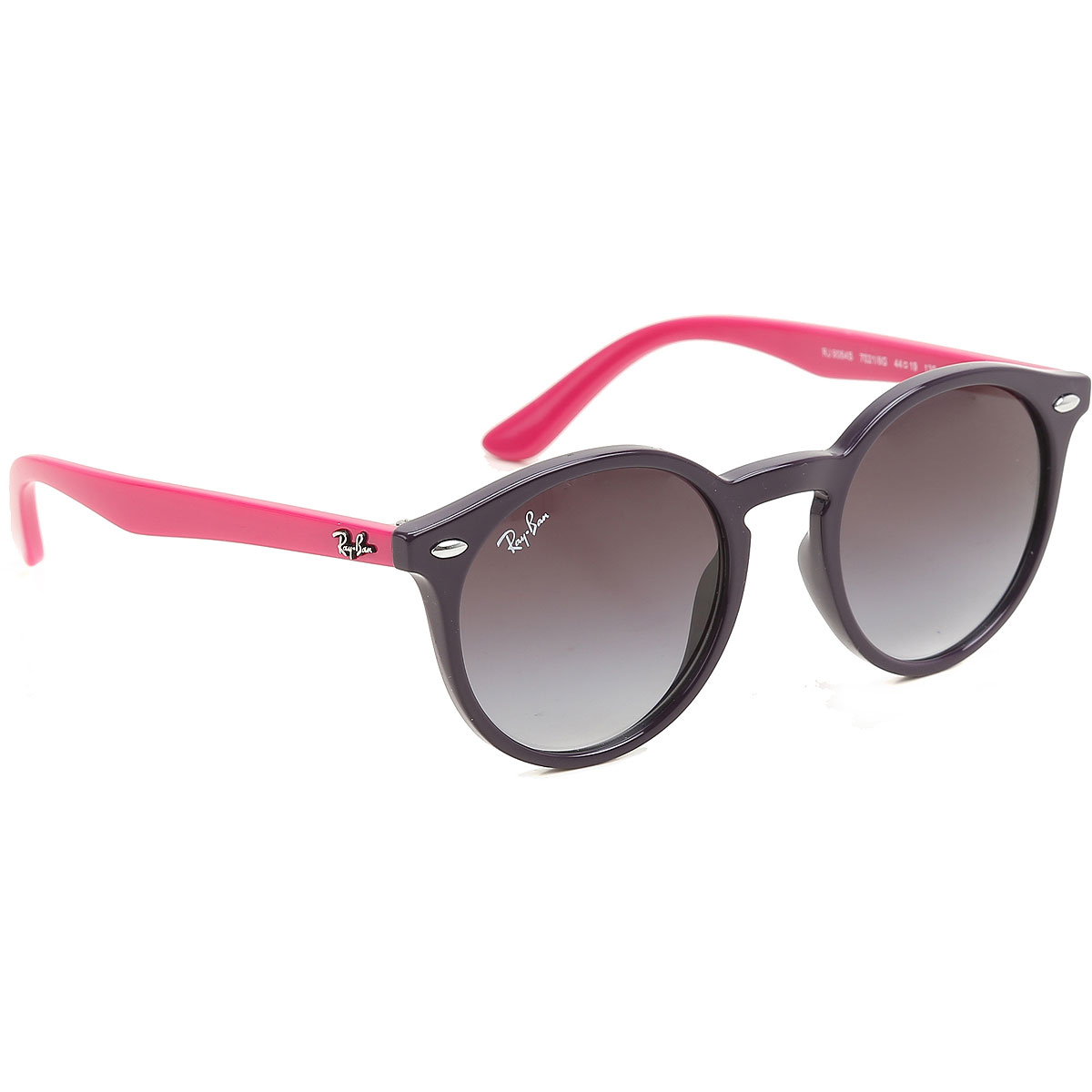 Image of Ray Ban Junior Kids Sunglasses for Girls On Sale, Eggplant Violet, 2017