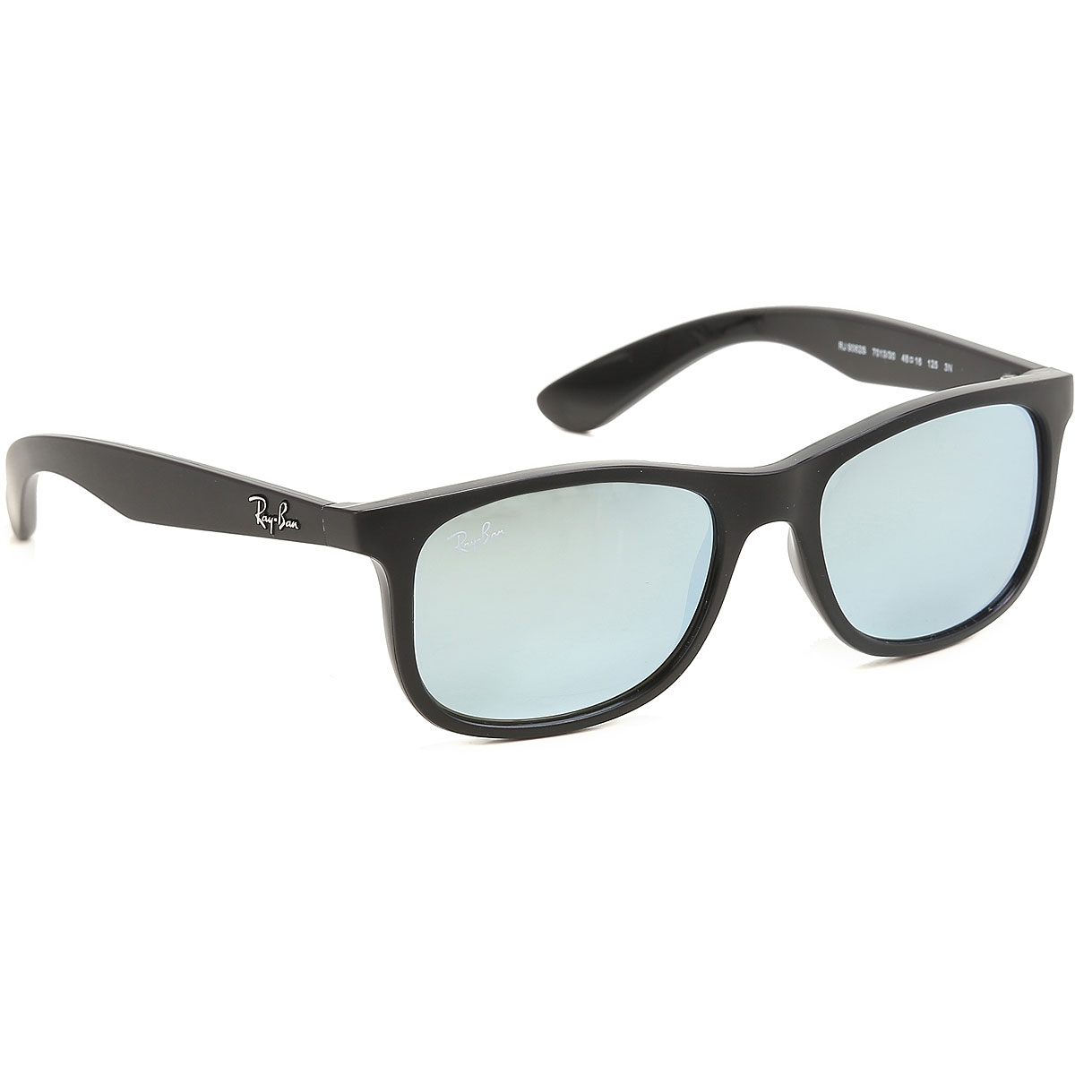 Image of Ray Ban Junior Kids Sunglasses for Boys On Sale, Matte Black, 2017
