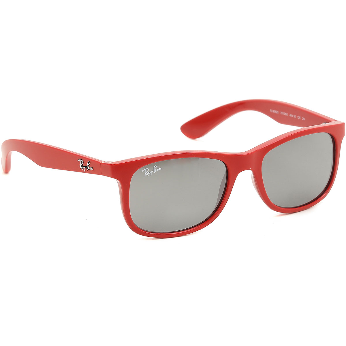 Image of Ray Ban Junior Kids Sunglasses for Boys On Sale, Red, 2017