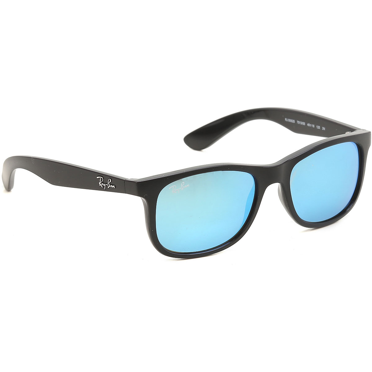 Ray Ban Junior Kids Sunglasses for Boys On Sale, Matte Black, 2017 USA-407352