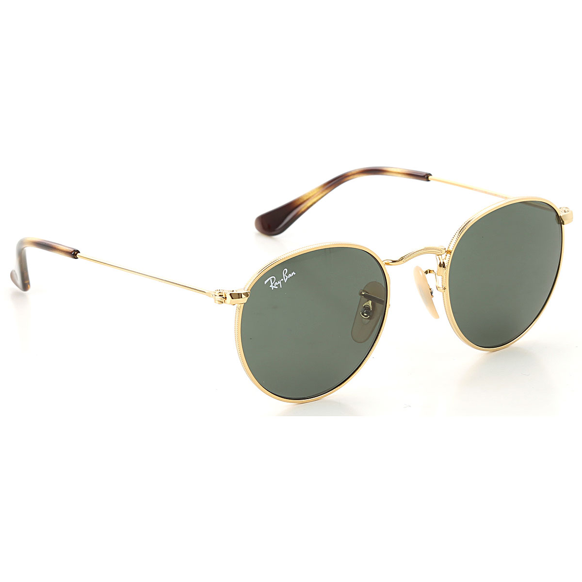 Image of Ray Ban Junior Kids Sunglasses for Boys On Sale, Gold, 2017