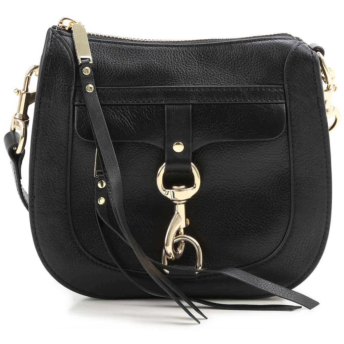 Rebecca Minkoff Shoulder Bag for Women On Sale, Navy Blue, Leather, 2017 USA-363029