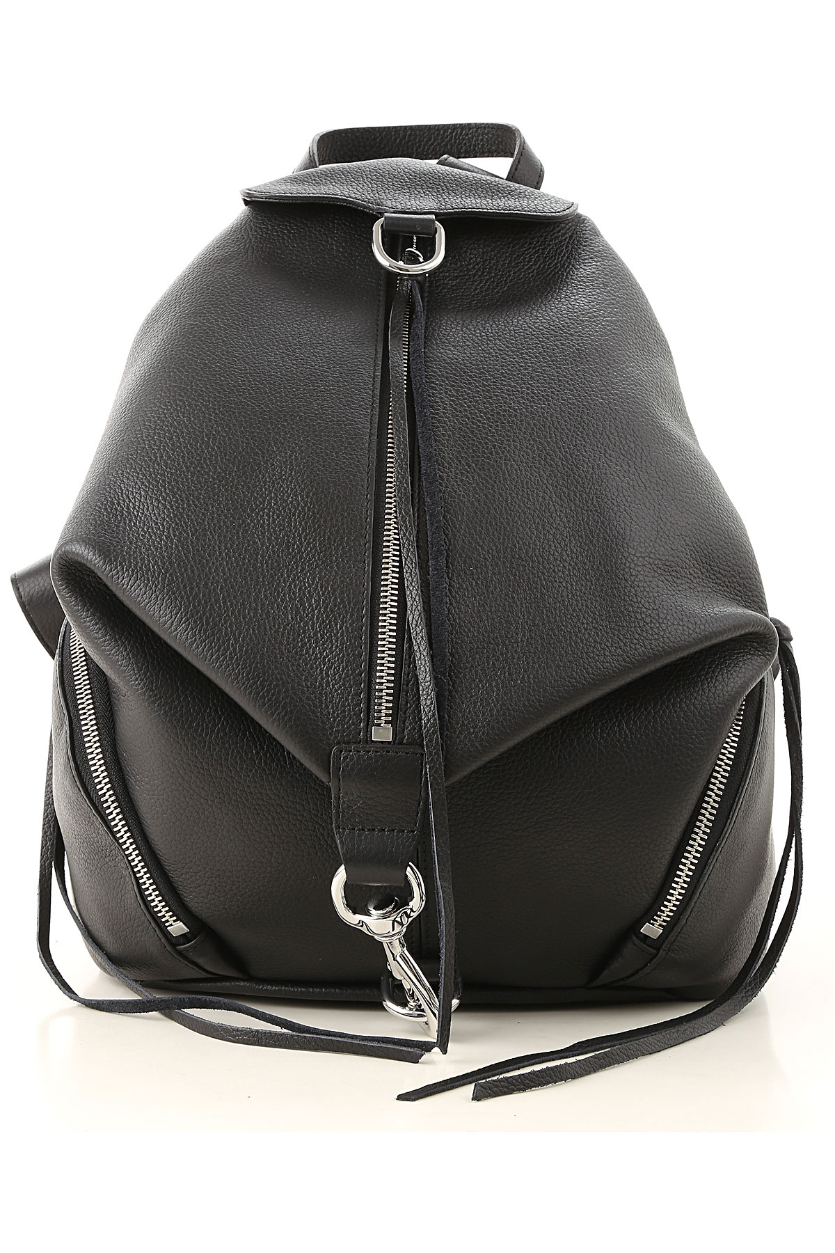 Image of Rebecca Minkoff Backpack for Women, Black, Leather, 2017
