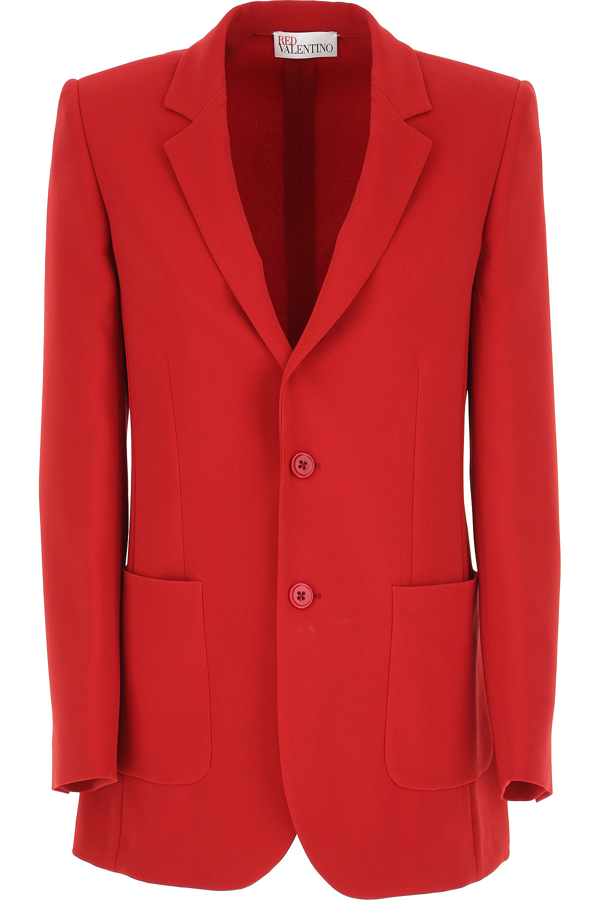 RED Valentino Blazer for Women On Sale, Red, acetate, 2019, 4 6 8