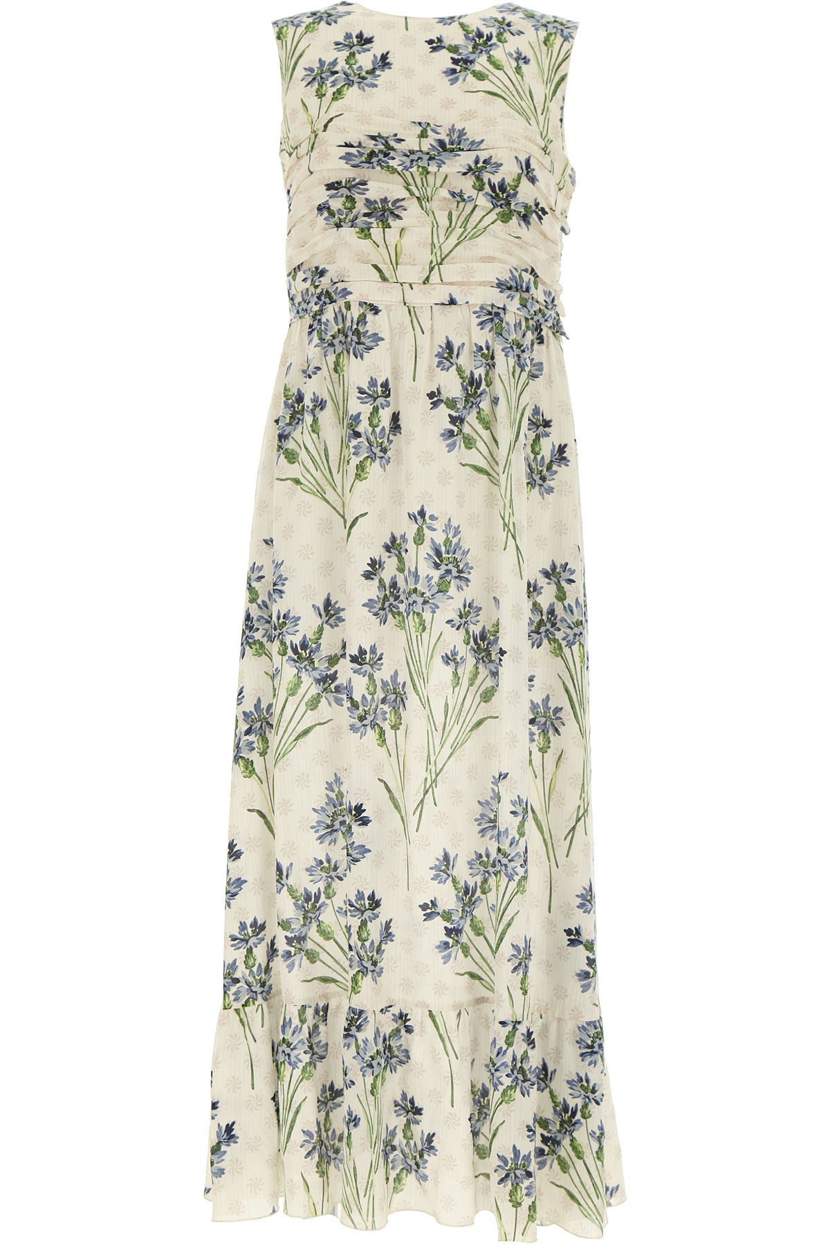 RED Valentino Dress for Women, Evening Cocktail Party On Sale, Cornflower, Silk, 2019, 6 8