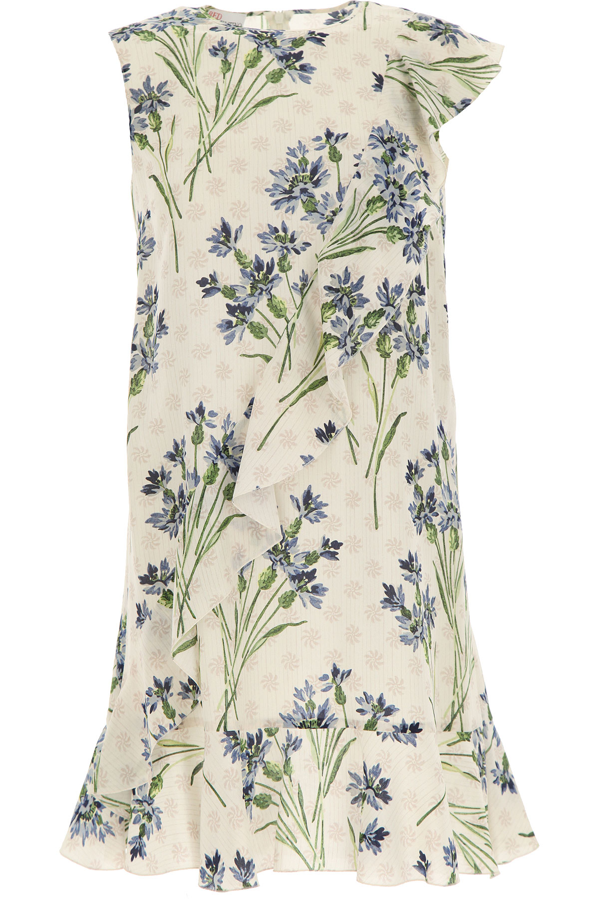 RED Valentino Dress for Women, Evening Cocktail Party On Sale, Lavender, Silk, 2019, 4 6 8