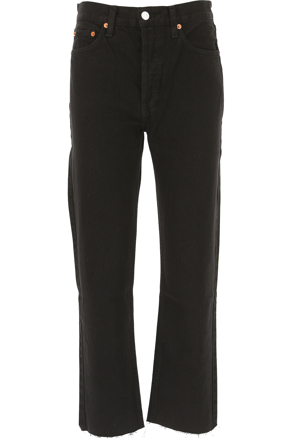 Image of RE/DONE Jeans, Black, Cotton, 2017, 25 26 27 28 29