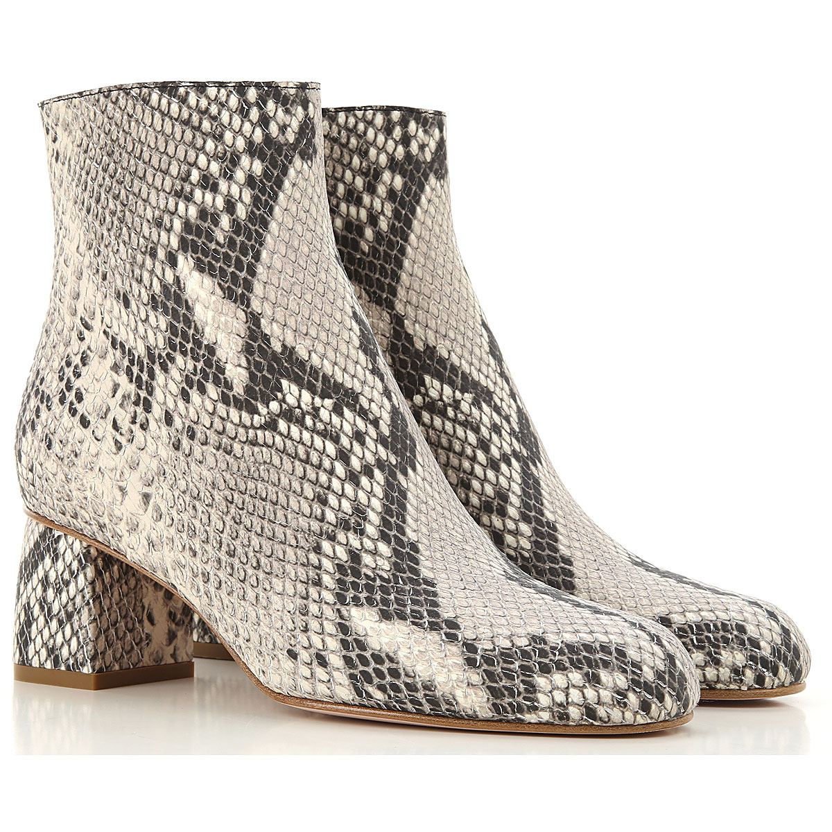 RED Valentino Boots for Women, Booties On Sale, Rock, Leather, 2019, 6 6.5 7 8 8.5 9