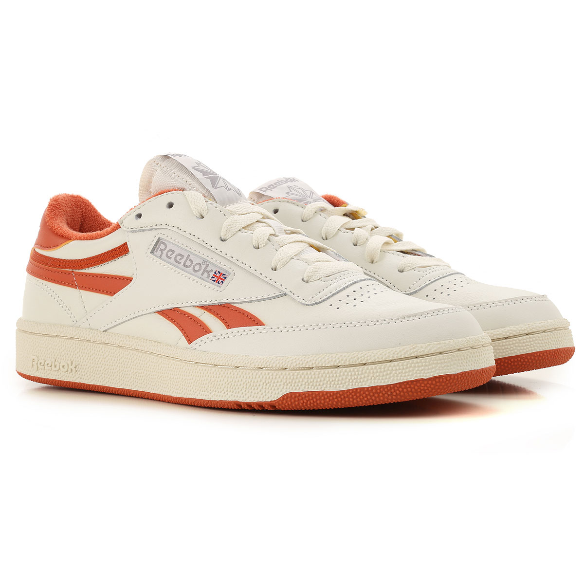 Reebok Sneakers for Men On Sale, Cream White, Fabric, 2019, 9