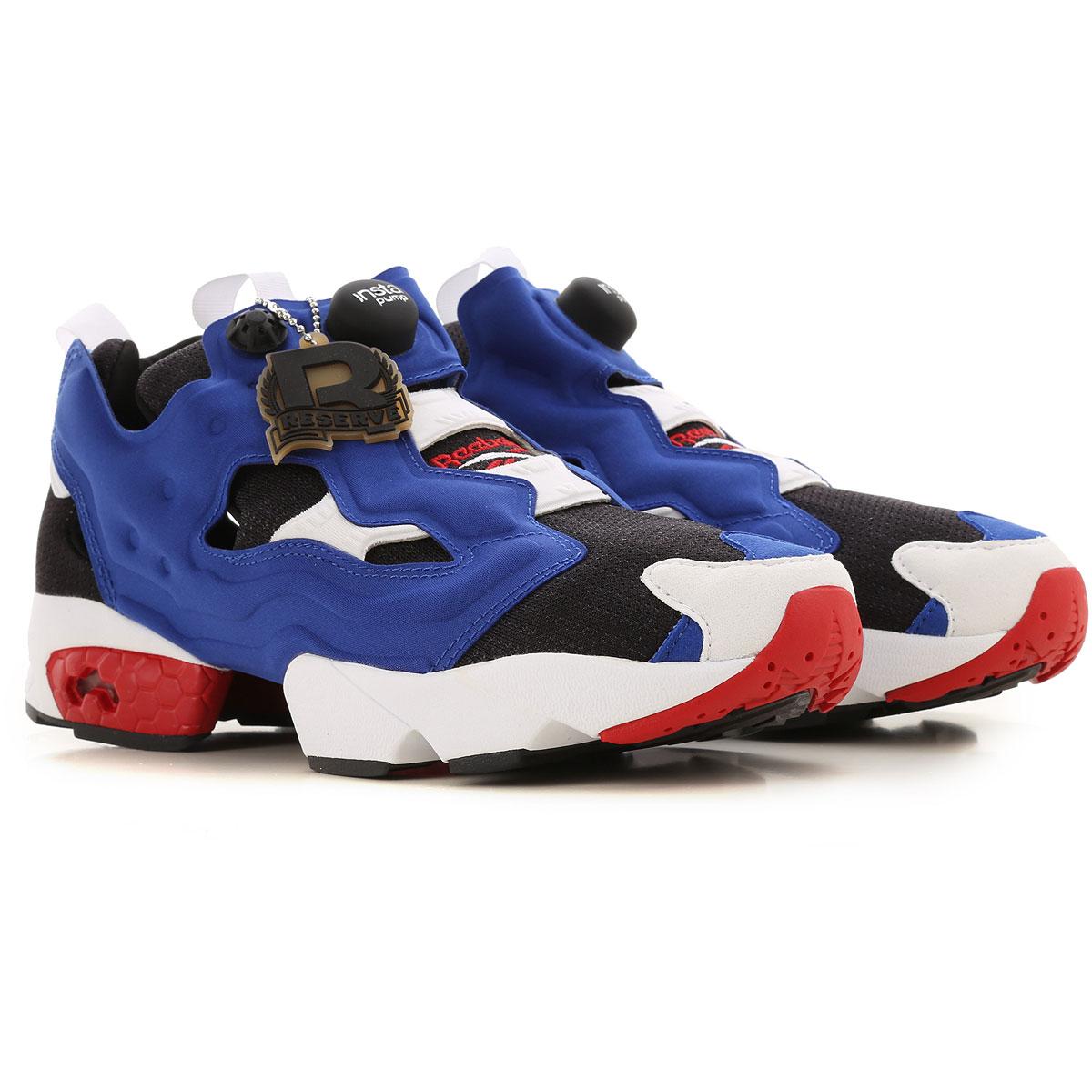 Reebok Sneakers for Men On Sale, Electric Blue, Fabric, 2019, US 11 5 - UK 11 - EU 45.5 US 7 5 - UK 6 5 - EU 40 - JP 25.5 US 8 - UK 7 - EU 40 5 - JP 2