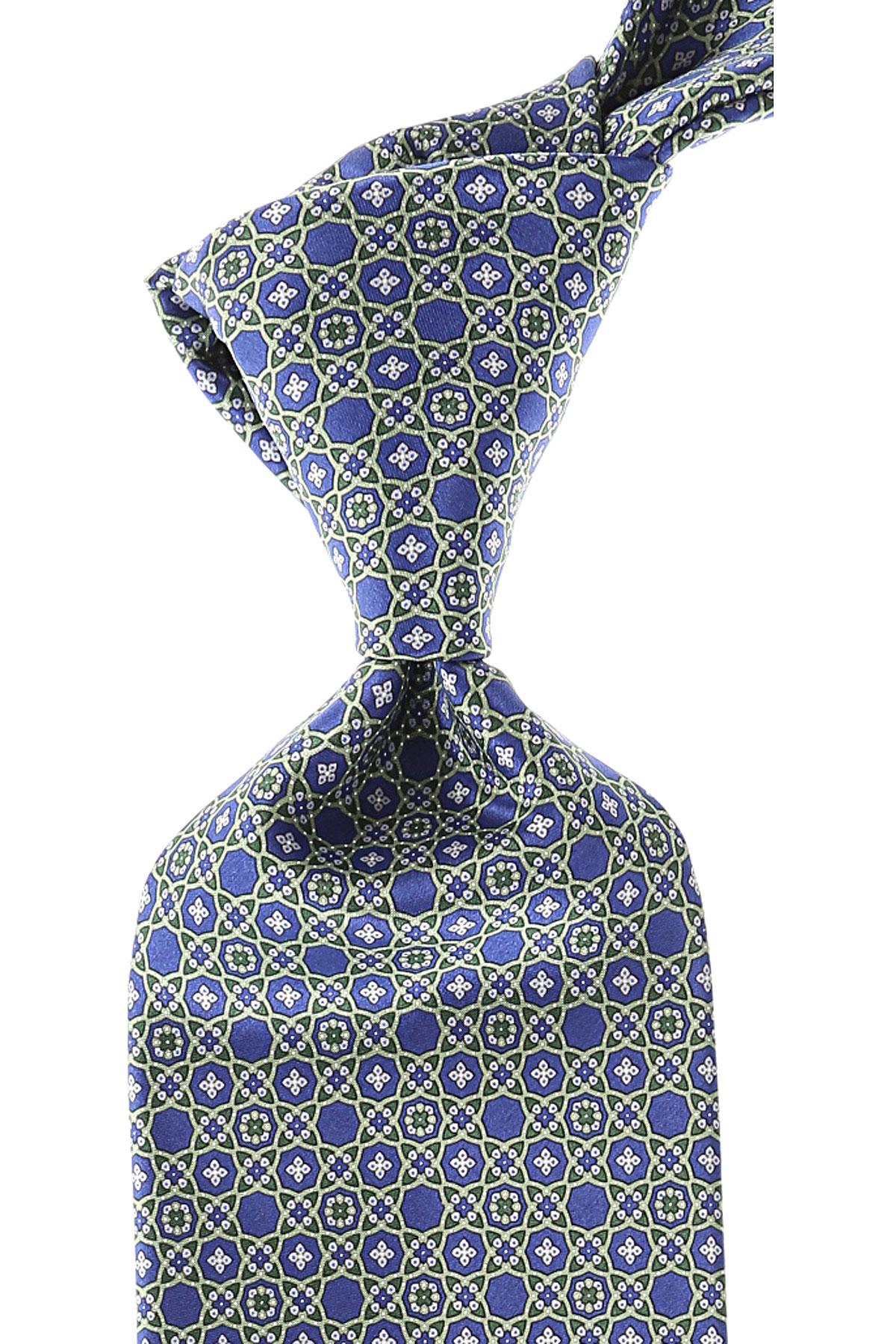 Stefano Ricci Ties On Sale, Green, Silk, 2019