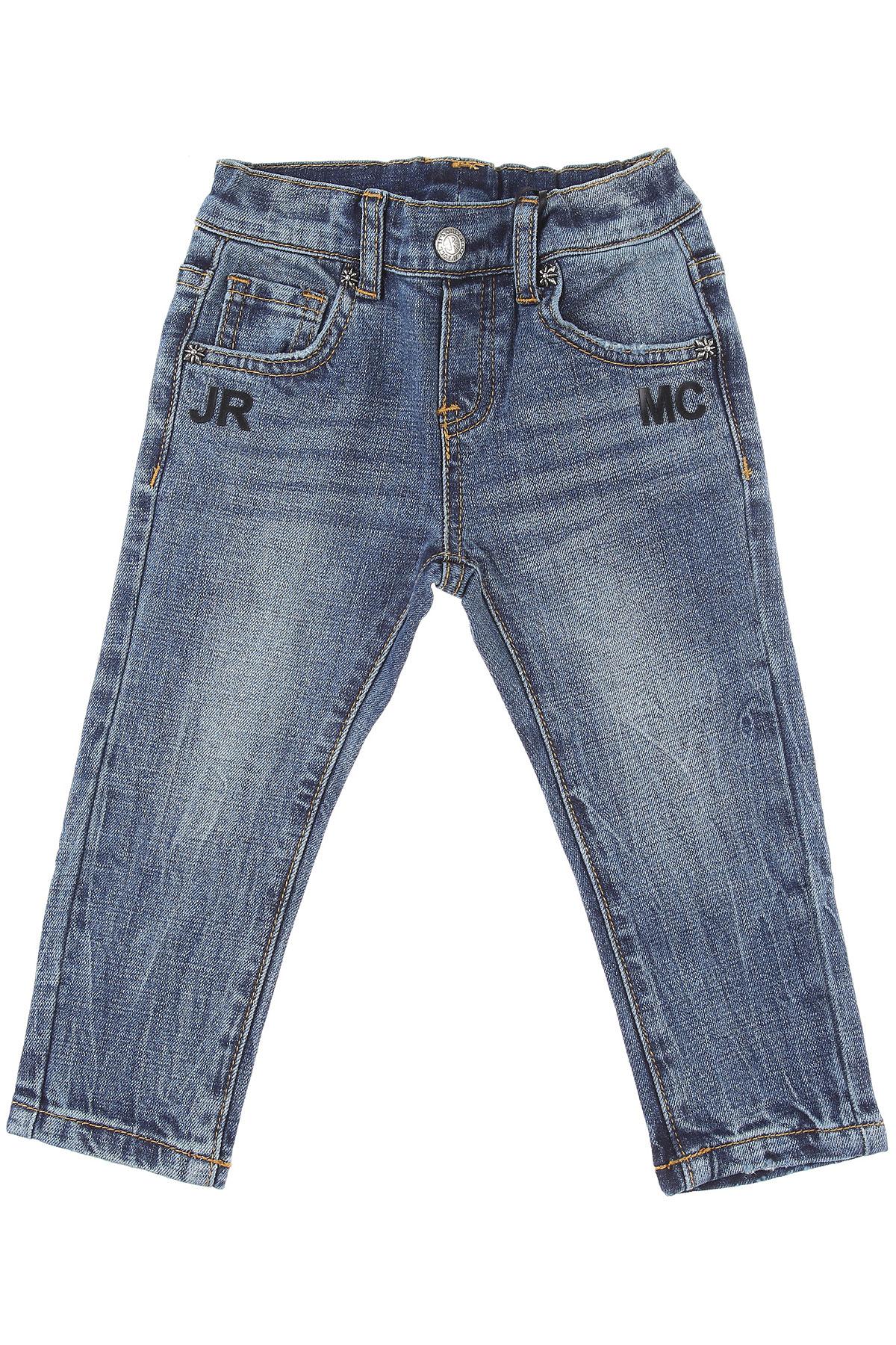 John Richmond Baby Jeans for Boys On Sale, Denim Blue, Cotton, 2019, 12 M 18 M 2Y 3M