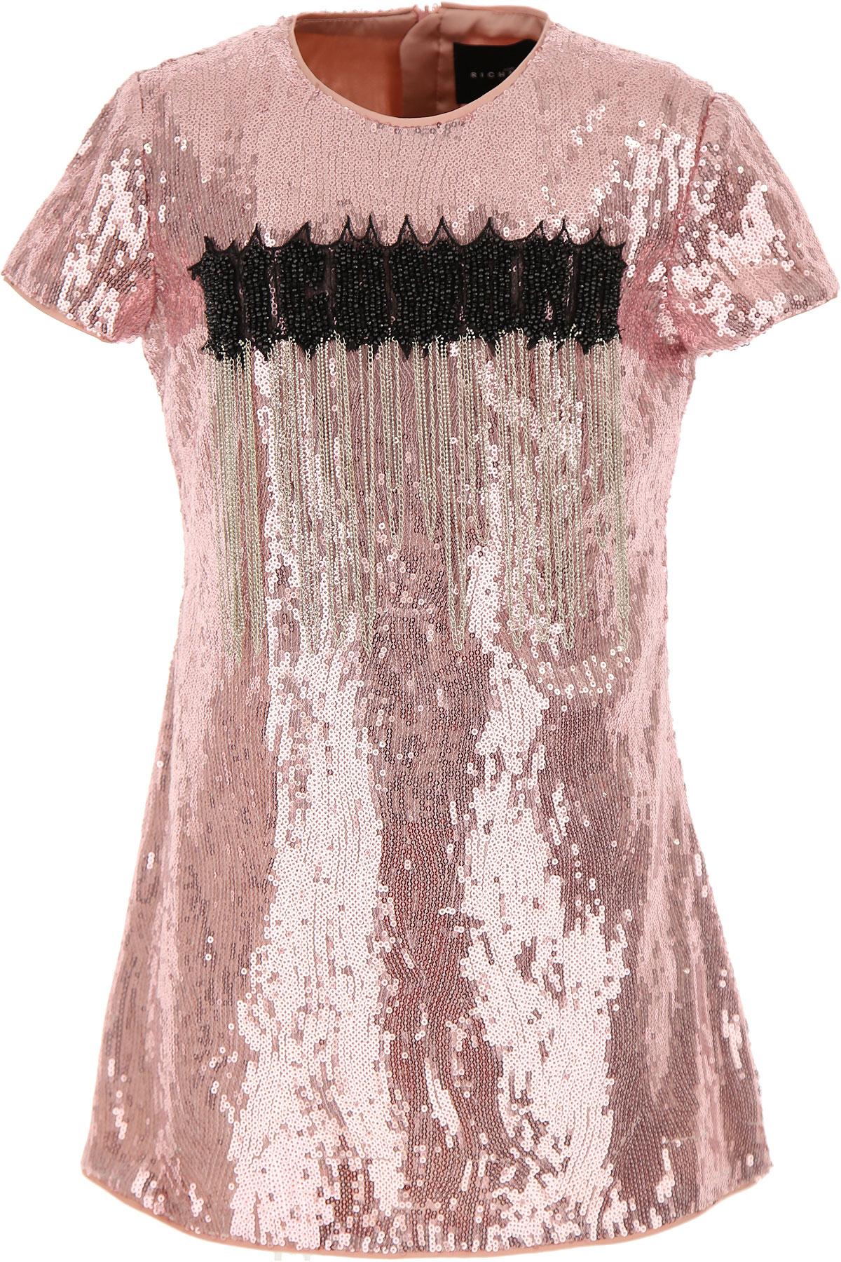 John Richmond Girls Dress On Sale, Pink, polyester, 2019, 10Y 12Y 14Y 16Y 4Y 6Y 8Y