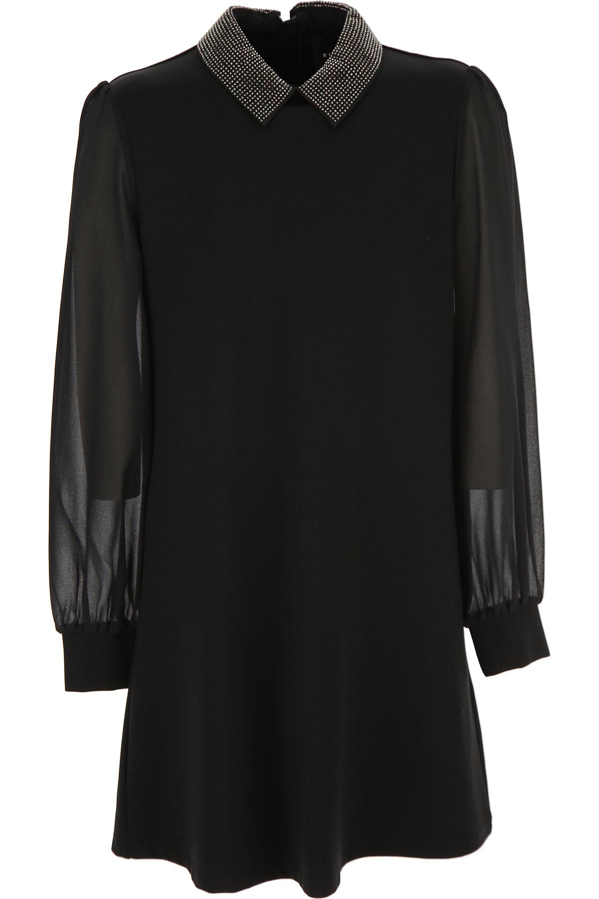 John Richmond Girls Dress On Sale, Black, Viscose, 2019, 10Y 12Y 14Y 16Y 8Y
