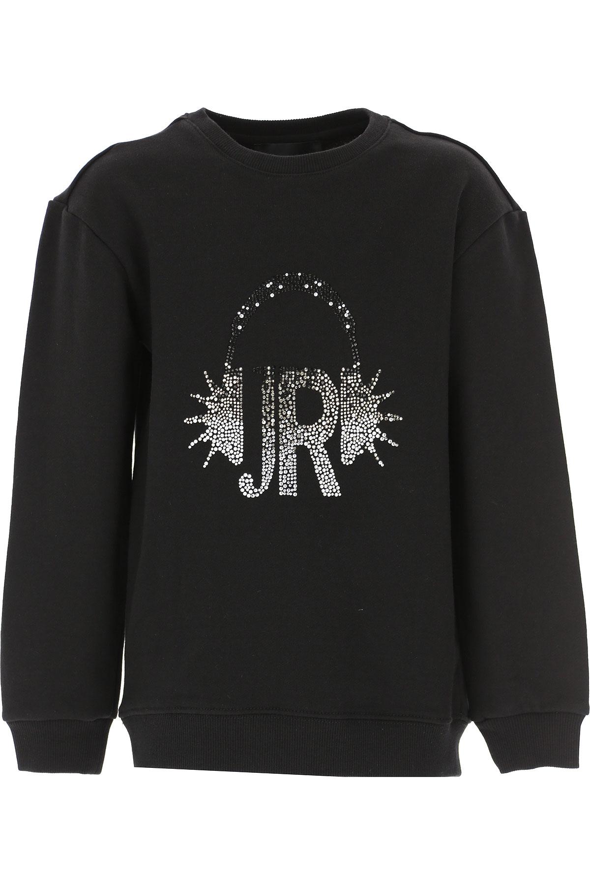 John Richmond Girls Dress On Sale, Black, polyester, 2019, 10Y 12Y 14Y 16Y 4Y 8Y