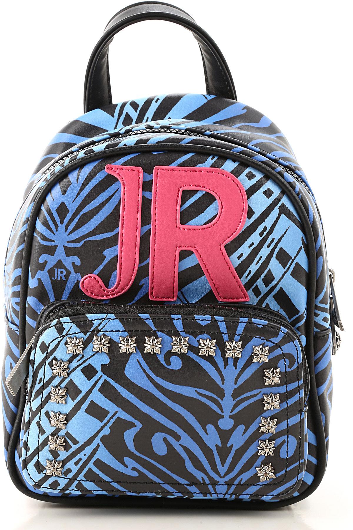 John Richmond Girls Handbag On Sale, Blue, polyurethane, 2019