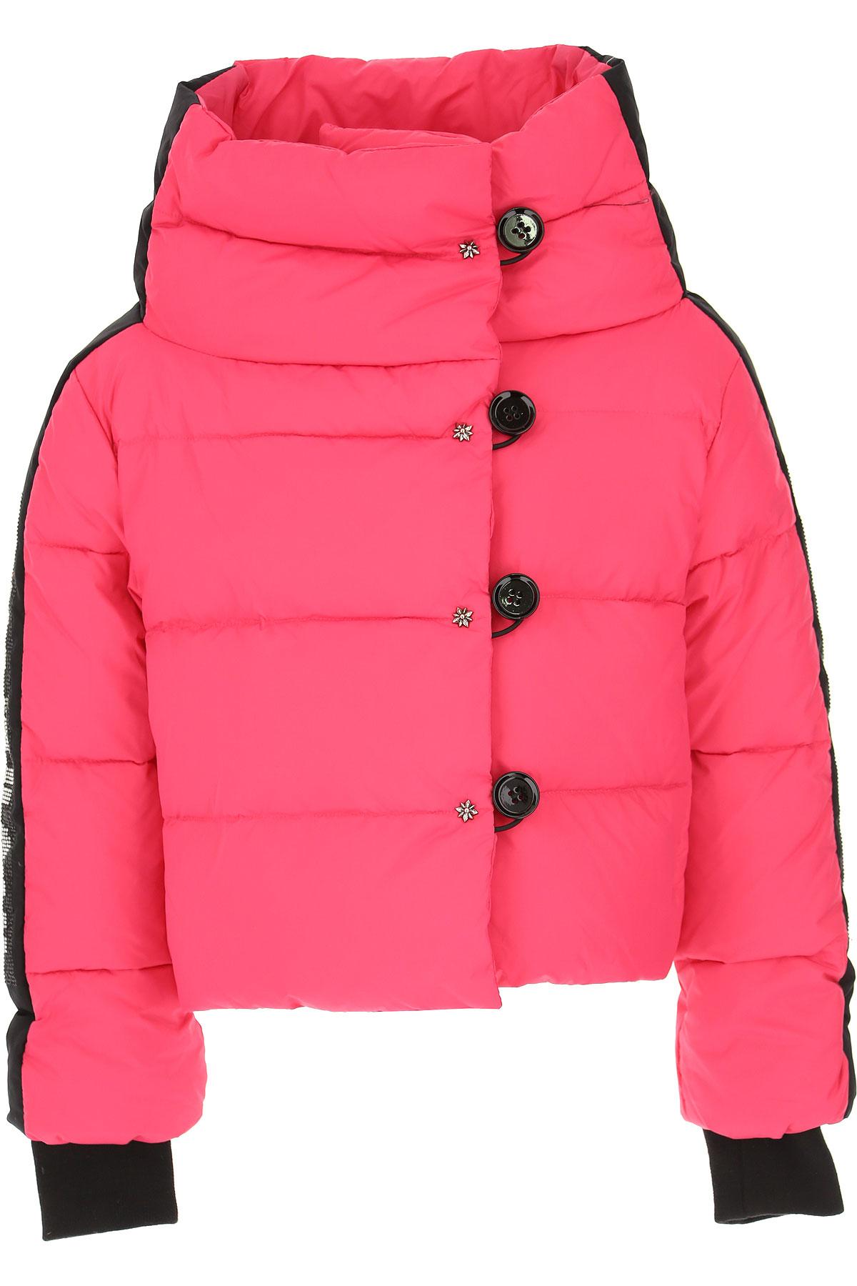 John Richmond Girls Down Jacket for Kids, Puffer Ski Jacket On Sale, Fuchsia, Nylon, 2019, 12Y 14Y 16Y 8Y