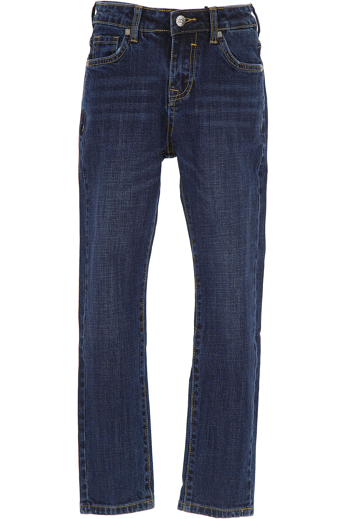 Image of John Richmond Kids Jeans for Boys, Denim, Cotton, 2017, 10Y 14Y 16Y 2Y 4Y 6Y 8Y