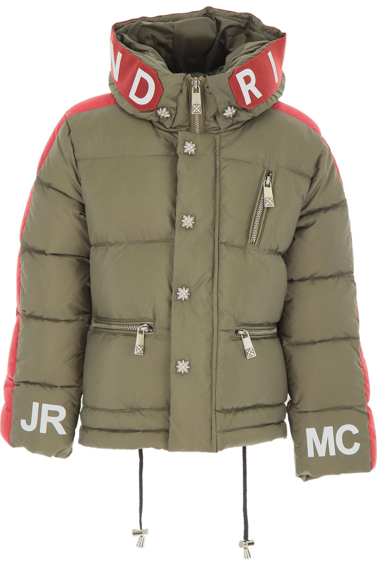 John Richmond Boys Down Jacket for Kids, Puffer Ski Jacket On Sale, Military Green, Nylon, 2019, 12Y 14Y 16Y 6Y 8Y