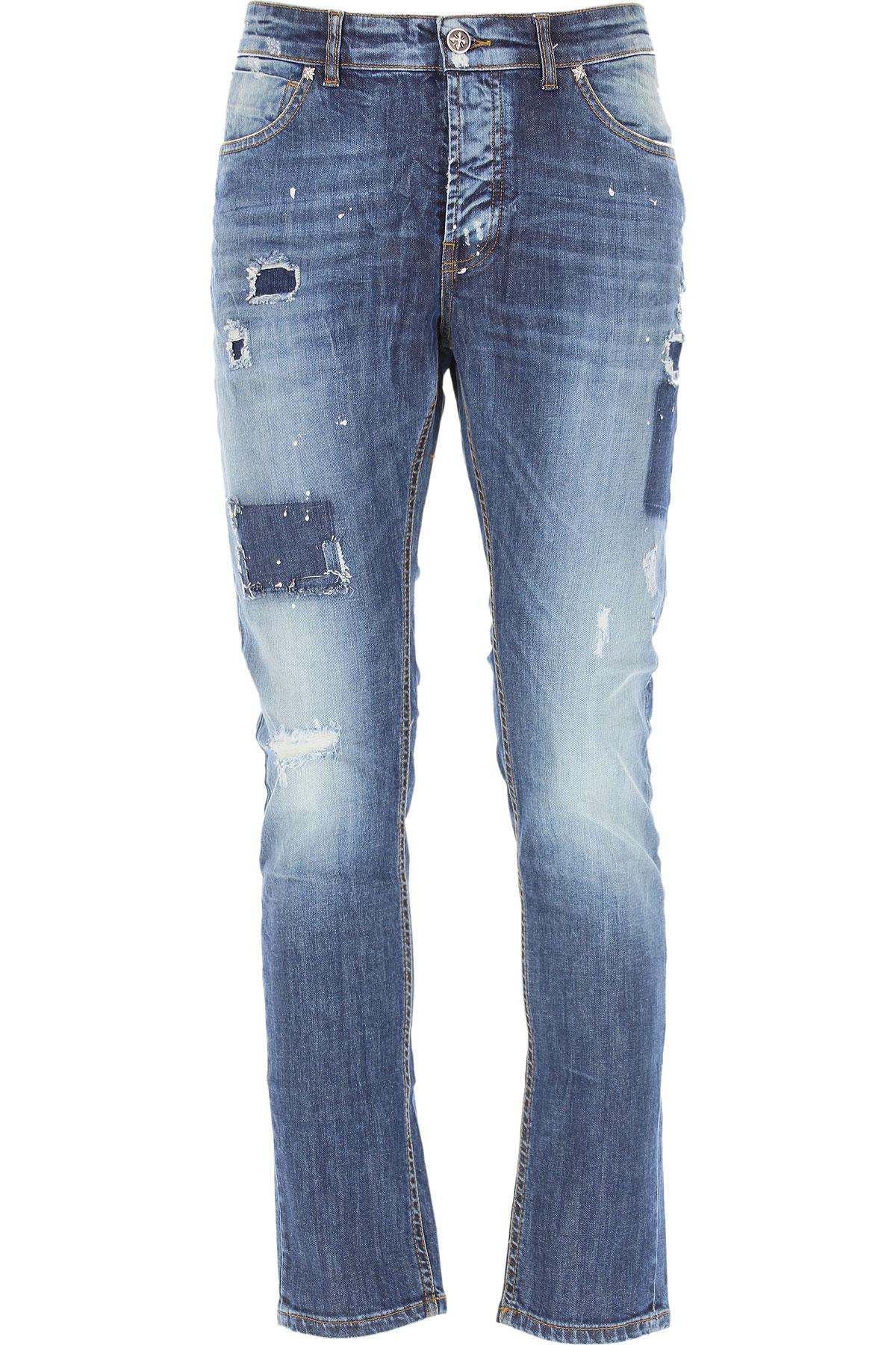 John Richmond Jeans On Sale, Denim Blue, Cotton, 2019, 32 33 34 36