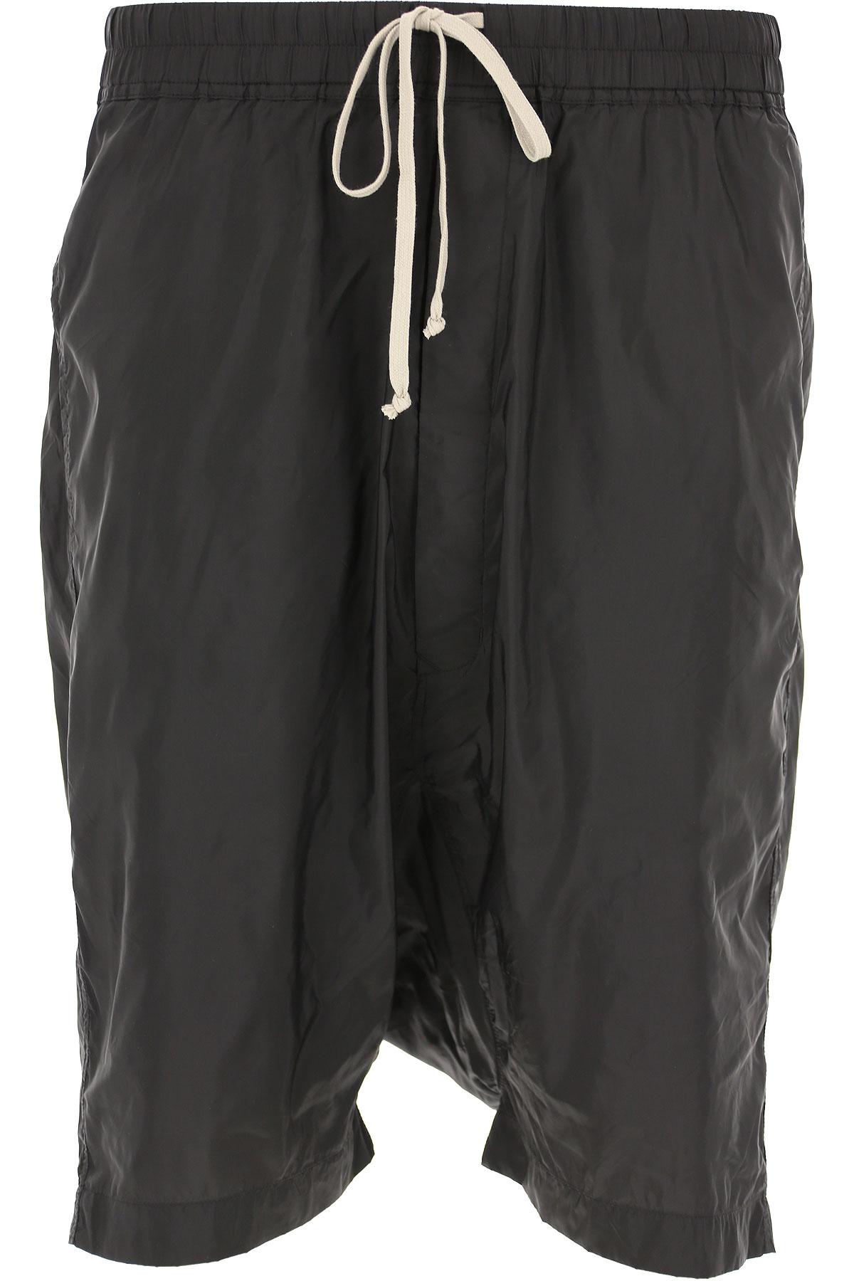 Rick Owens DRKSHDW Mens Clothing On Sale in Outlet, Black, poliammide, 2019, S