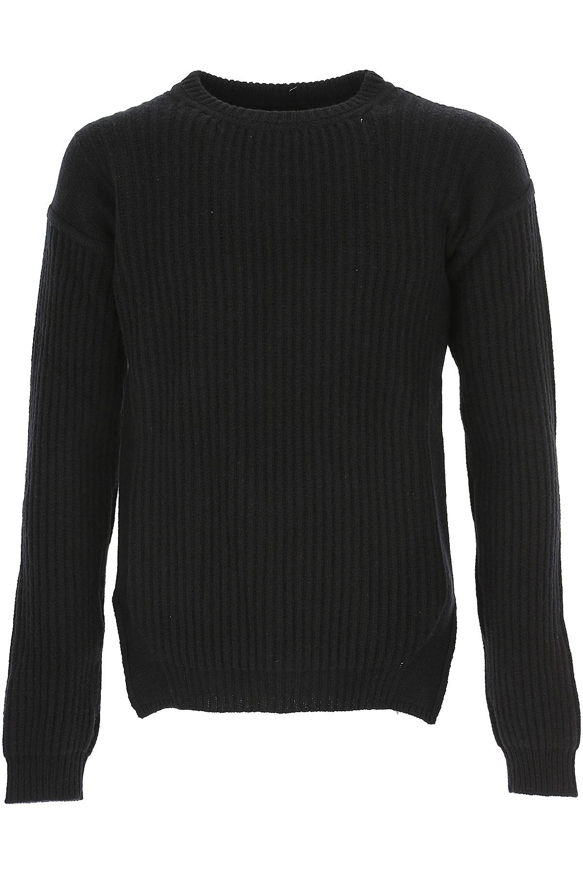 Rick Owens Sweater for Men Jumper On Sale in Outlet, Black, Wool, 2019, M S